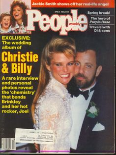Image detail for -description magazine people date april 15 1985 cover christie brinkley