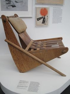 Richard Neutra Chair from Channel Heights Housing Project, 1941-42