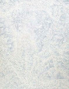 Infinity nets 2000 / Synthetic polymer paint on canvas / 162  x 130cm, The Kenneth and Yasuko Myer Collection of Contemporary Asian Art. Purchased 2001 with funds from The Myer Foundation, a project of the Sidney Myer Centenary Celebration 1899–1999, through the Queensland Art Gallery Foundation / Collection: Queensland Art Gallery