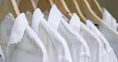 6 dicas para recuperar a cor das suas roupas brancas