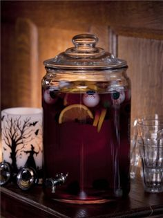 This sangria is quite an eyeful #halloween