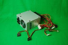 Netzteil PSU MaxSilent MS-410 ATX 410 Watt, 2 x 80mm Fan Lüfter, 20+4p, 4 x SATA