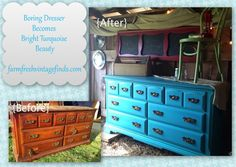 Dresser Painted with Sherwin Williams Latex Paint - Farm Fresh Vintage Finds