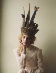 Do you think I'd get funny looks if I turned up to work in this fabulous crown?!