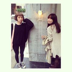 Moe Hatada / 畑田 萌さんはInstagramを利用しています:「癒しの可愛こちゃん達来てくれた! 透けバング推し。 またきてねー♡☄」