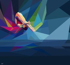 Olympic 2012 Fractured Illustrations - Charis Tsevis | Patternbank
