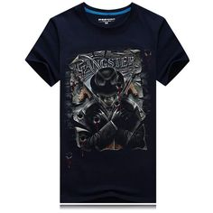 Sale 16% (16.77$) - Mens Skull 3D Printing Fashion Personality Tees Casual Cotton Short Sleeve T-shirt Plus Size