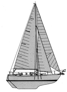 NorSea 37 profile Yacht Builders, Yachts, Sailing Ships, Profile, Boat, User Profile, Dinghy, Boats, Sailboat