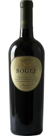 [2012] Bogle Vineyards Merlot.  A nice full flavour merlot without tasting like its a step away from vinegar.  BUT it has that nice bitter bite one expects from merlot.