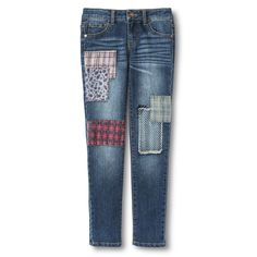 Annie for Target Girls' Embellished Patch Jeans (My Stinker wants in size 5)