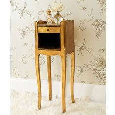 Versailles Dainty Gold Bedside Table|Bedside Tables|Tables|French Bedroom Company