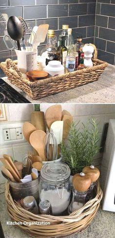 Small Kitchen Decoration Ideas - Küche - Home Renovation Farmhouse Side Table, Modern Farmhouse, Cute Dorm Rooms, Diy Home Decor Projects, Decor Ideas, Diy Ideas, Küchen Design, Design Ideas, Interior Design