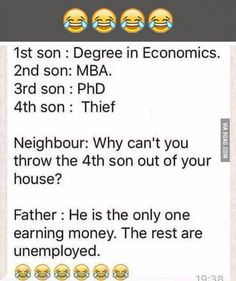 Funny school jokes - Our dad wants an inventions not a title Exam Quotes Funny, Funny Texts Jokes, Latest Funny Jokes, Very Funny Memes, Sarcastic Jokes, Funny Jokes In Hindi, Funny School Memes, Cute Funny Quotes, Some Funny Jokes