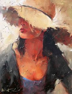 Andre Kohn is a figure painter whose style is described as figurative impressionist. Painter demonstrates his skill and acute eye for detail in this imaginative, poignant gallery. Art And Illustration, Illustrations, Figure Painting, Painting & Drawing, Rain Painting, Fine Art, Portrait Art, Beautiful Paintings, Art Oil