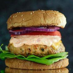 Anne Burrell's Killer Turkey Burgers Recipe