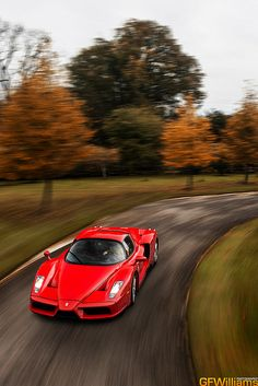 Ferrari Enzo goes for an autumn drive by GFWilliams.net Automotive Photography on Flickr.