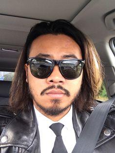 Mens hairstyle long hair