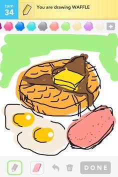 Draw Something Waffle!