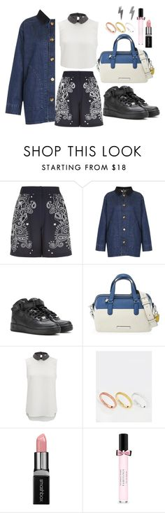 """""""《☆》"""" by bluveraa ❤ liked on Polyvore featuring River Island, Topshop, NIKE, Marc by Marc Jacobs, Vero Moda, Orelia, Smashbox, Victoria's Secret, women's clothing and women's fashion"""