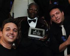 Big Time Orchestra e BB King (Foto: Arquivo pessoal)