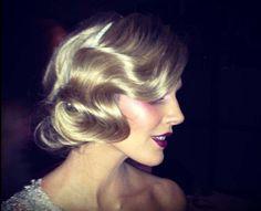 vintage wedding hairstyles | Love this vintage hairstyle