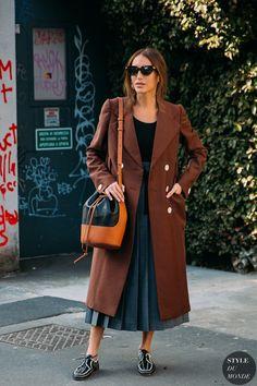 Street Snap, Street Chic, Milan Fashion, Street Fashion, Street Looks, Fashion Photo, Street Styles, Chloe, Coats