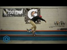 """Chaz Ortiz: Training Facility Update #2 - http://DAILYSKATETUBE.COM/chaz-ortiz-training-facility-update-2/ -   Now that winter is upon us and things have slowed down from traveling, filming for Zoo York's """"King Of New York"""" video, rehabbing injuries, etc...we wanted t... - chaz, facility, ortiz, training, update"""