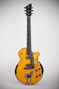 Beardsell Guitars » 7E Electric Guitar | Handmade Guitars, Harp Guitars, Mandolins, and more.