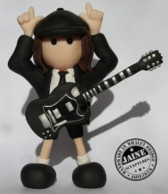 Angus Young - AC/DC | Flickr - Photo Sharing!