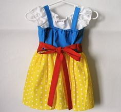Cute Halloween costume idea for the little one - Snow White