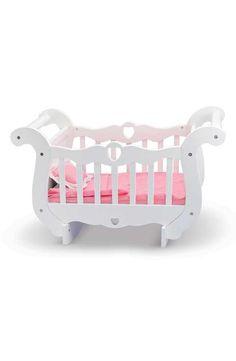 cot mdf  wooden 1 x  rocking baby  ELF Crib