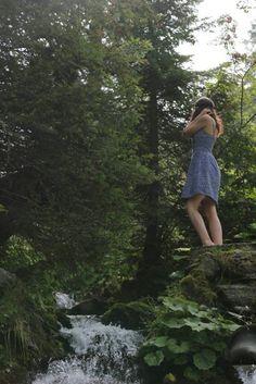 Liberty #inspiration #girl #nature #fashion #ideas #mountain #landscape #waterfall #Swiss #Verbier #enjoythesmallthings #natural