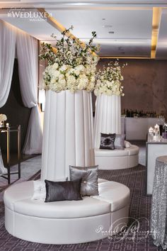 Spectacular #Wedding seating for the guests at The Four Seasons Hotel Toronto x