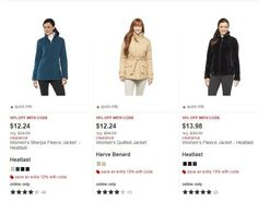 Target has Select Women's Coats & Jackets on clearance get them as low as $11.02!