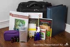 Business-Building Tip: Create an Essential Oils Business Presentation Kit