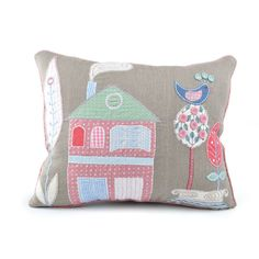 Golly Gosh House Cushion - Large here at Little Steps