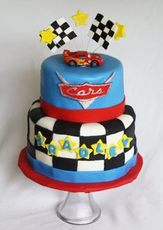 An Adorable Disney Cars Birthday Cake