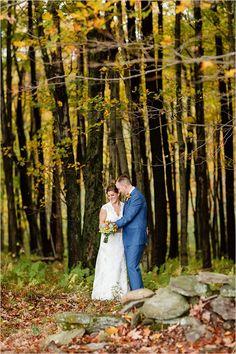Fall wedding portrait ideas @weddingchicks