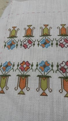 Ribbon Embroidery, Needlework, Oriental, Cross Stitch, Herb, Crafts, Dots, Needlepoint, Manualidades