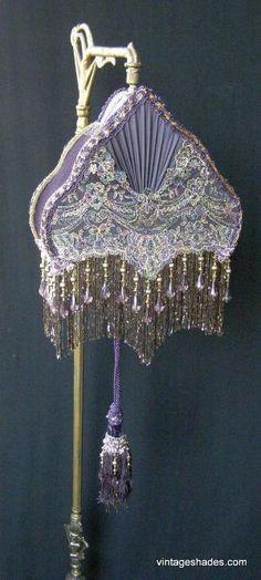 Vintage Custom Lamp Shades by oldrose