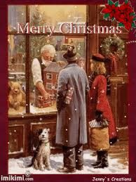 when you were little and your parents took you window shopping at Christmas ... magical