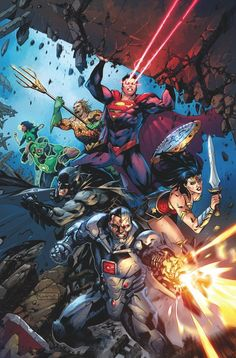 This was the original solicitation for Justice League from DC Comics for July. (W) Bryan Hitch (A) Fernando Pasarin, Oclair Albert (CA) Bryan Hitch Marvel Vs, Comic Books Art, Comic Art, Bryan Hitch, Justice League Comics, Justice League New 52, Justice League Unlimited, Ultra Street Fighter, Univers Dc