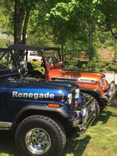 Jeep Renegades