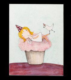 Cupcake Fairy   Carla Sonheim