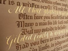 all-that-glitters-calligraphy-quotation