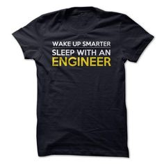Make this awesome proud Mechanic: Wake Up Smarter Sleep With An Engineer Funny T Shirt as a great gift Shirts T-Shirts for Mechanics