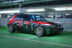 Lancia Delta Integrale livrea black