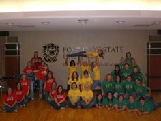 MY FORMER SORORITY IS ON PINTEREST! I'm in this picture in the yellow! AGD! :D