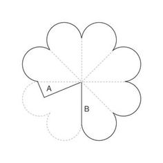 "How to make the blossoms: Begin with a 3"" circle of paper. You'll need one disk of paper for each blossom. Given the relatively small size ..."