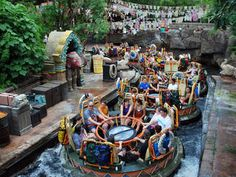 Kali River Rapids at Walt Disney World - Disney's Animal Kingdom Park